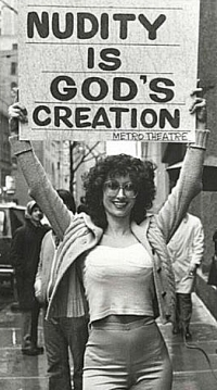 Nudity is God's creation